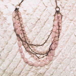 Nordstrom Pink Statement Necklace